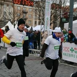 Vilnius Christmas Run - Tadas Stankevičius (4598), Aleksandr Dagil (4601)