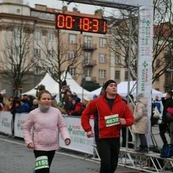 Vilnius Christmas Run - Vilija Vainaitė (4155), Stasys Dubickas (4630)