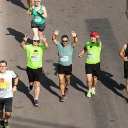 Citadele Kauno maratonas - Vaidas Stravinskas (883), Rokas Stačkūnas (1190), Vitalijus Vysniauskas (1194), Tomas Chodakov (1195), Gintaras Šupšinskas (1196)
