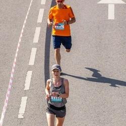 Citadele Kauno maratonas - Laura Šlepikaitė (1280), Modestas Gečas (1314)