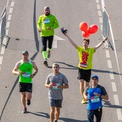 Citadele Kauno maratonas - Vladimiras Krakauskas (919), Sergej Kasatkin (1002)