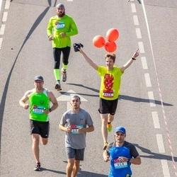 Citadele Kauno maratonas - Vladimiras Krakauskas (919), Sergej Kasatkin (1002), Jurijs Vilks (1170)