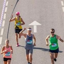 Citadele Kauno maratonas - Gintarė Stanaitytė (622), Audra Bogužinskienė (683), Antanas Girčys (1340), Vilius Puidokas (1342)