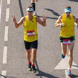 Citadele Kauno maratonas - Jurij Dorofejev (238), Egidijus Navickas (352)