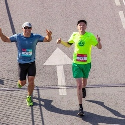 Citadele Kauno maratonas - Romas Olchovik (344), Jerzy Kuc (970)