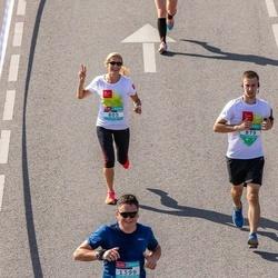 Citadele Kauno maratonas - Rasa Ciegienė (805), Tomas Megelinskas (879)