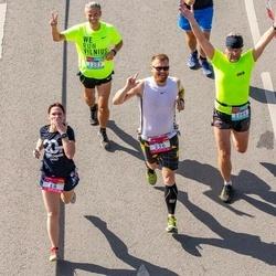 Citadele Kauno maratonas - Ieva Saltonienė (18), Julius Sakalauskas (256), Valdas Kilpys (1086)
