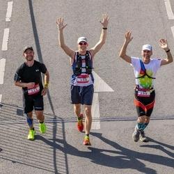 Citadele Kauno maratonas - Antar Drews (198), Carlos Drews (199), Sebastian Rojas (229)
