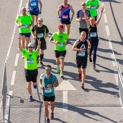 Citadele Kauno maratonas - Rokas Stačkūnas (1190), Vitalijus Vysniauskas (1194), Tomas Chodakov (1195), Gintaras Šupšinskas (1196)