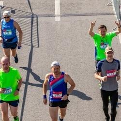 Citadele Kauno maratonas - Dariusz Dawidejt (133), Mindaugas Jencius (722), Marc Bruins (1193)