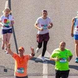Citadele Kauno maratonas - Arunas Brenkys (731), Aušra Blažienė (750), Audrius Jovaiša (770), Augustas Kubilius (1094)
