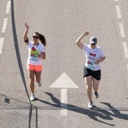 Citadele Kauno maratonas - Germantė Bartkutė (674), Julija Baškytė (1225)