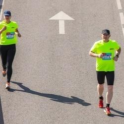 Citadele Kauno maratonas - Kristina Brukštaitė (1077), Minvydas Motiejūnas (1078)