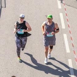 Citadele Kauno maratonas - Egidijus Vasilevicius (1003), Lukne Vasileviciute (1004)