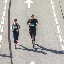 Citadele Kauno maratonas - Povilas Banaitis (666), Lina Šeduikytė (667)