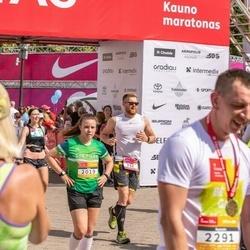 Citadele Kauno maratonas - Julius Sakalauskas (256), Justė Laužadytė (2019)