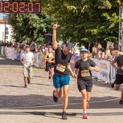 Citadele Kauno maratonas - Aida Vitkauskė (2091), Donatas Vitkauskas (2092)