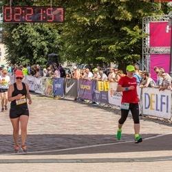 Citadele Kauno maratonas - Edmundas Burba (1052), Giedrė Pėtničytė (2096)