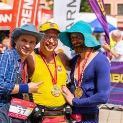 Citadele Kauno maratonas - Valdas Šmaižys (27), Virgintas Stogevičius (103), Mindaugas Garmus (285)