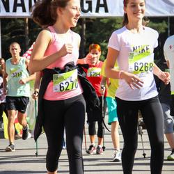 Nike Riga Run - Dārta Krāsone (6268), Elza-Līva Averčenko (6270)