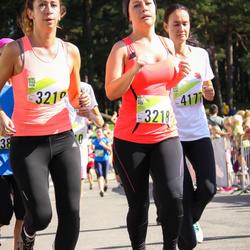 Nike Riga Run - Anastasija Petunina (3218), Irina Flegontova (3219), Diāna Jurevica (4177)