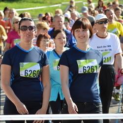 Nike Riga Run - Baiba Jakovļeva (6260), Karīna Rešņaka (6261)
