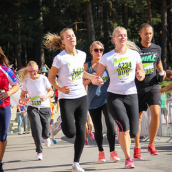 Nike Riga Run - Līva Kleinberga (4234), Agnese Zēberga (4235)