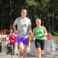 Nike Riga Run - Anastasija Medne (3846), Oļģerts Kļaviņš (3888)