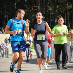 Nike Riga Run - Agnese Saukuma (4194), Jānis Saukums (4195)