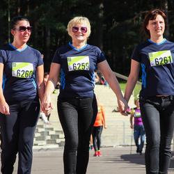 Nike Riga Run - Aija Feldmane (6259), Baiba Jakovļeva (6260), Karīna Rešņaka (6261)