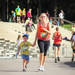 Nike Riga Run - Elīna Auna (6340), Mārtiņš Auns (6341)