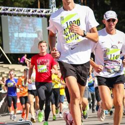 Nike Riga Run - Anthony Pouillart (1030), Ēvalds Šaters (1146)