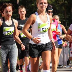 Nike Riga Run - Aija Pujāte (628), Vlada Čiževska (632)