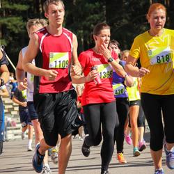Nike Riga Run - Aiga Vīdmane (818), Toms Saulītēns (1109), Evija Šulte (1366)