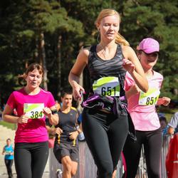 Nike Riga Run - Lāsma Peļņa (384), Agnese Kundziņa (651)