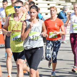Nike Riga Run - Iveta Ragoviča (576), Gatis Bērziņš (1922)