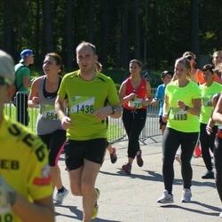 Nike Riga Run - Anna Korenkovska (1113), Rolands Grunckis (1436)