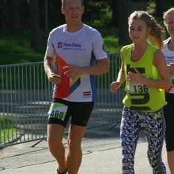 Nike Riga Run - Ailenda Krivicka (136), Andris Veriks (460)