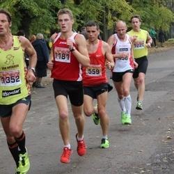 Sigulda Half Marathon - Jevgēnijs Turkins (559), Pēteris Lazdiņš (1181), Jānis Mežiels (1220), Kaspars Tūbelis (1352)