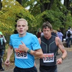 Sigulda Half Marathon - Māris Pakārklis (1249), Vjačeslavs Žunda (1382)