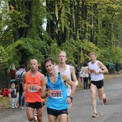 Sigulda Half Marathon - Jānis Gailis (164), Ruslans Smolonskis (1322)