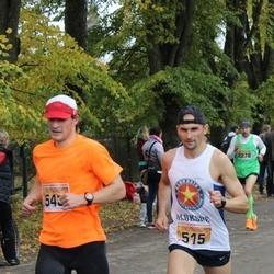 Sigulda Half Marathon - Raimonds Siliņš (515), Jānis Sukaruks (543)