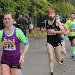 Sigulda Half Marathon - Nauris Rūdulis (475), Kitija Valtere (582), Edijs Reimanis (1285)