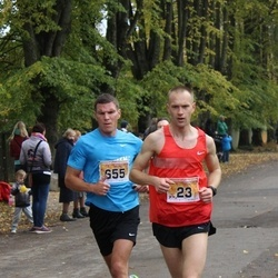 Sigulda Half Marathon - Mareks Antons (23), Simson Priit (655)