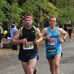 Sigulda Half Marathon - Ģirts Kazmins (267), Mareks Šīrants (1313)