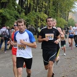 Sigulda Half Marathon - Kristaps Magone (352), Igors Seņko (509)