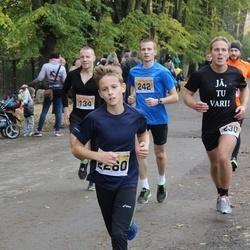 Sigulda Half Marathon - Kristaps Drande (134), Arvīds Jankauskis (230), Jānis Jerofejevs (242), Ernests Vīlips (2260)