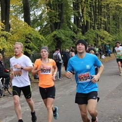 Sigulda Half Marathon - Miks Pētersons (416), Madara Frēliha (1095), Vladimirs Jekimovs (1134)