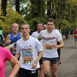 Sigulda Half Marathon - Aleksandrs Berjozkins (66), Artūrs Ketlers (271)