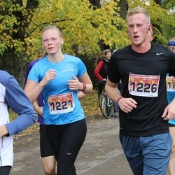 Sigulda Half Marathon - Anita Millere (1221), Āris Mintāls (1226)